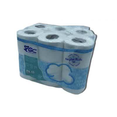 Papier Toilette Gc Bleu X12