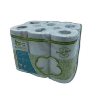 Papier Toilette Ecologique Bleu X12