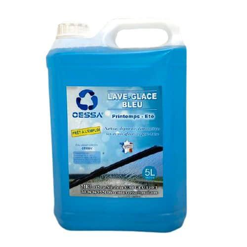 lave glace bleu cessa